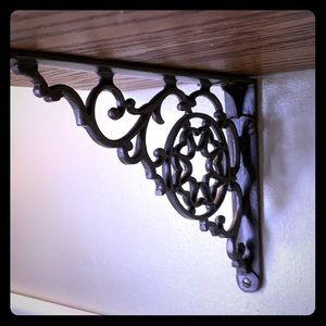 Vintage shelf brackets.